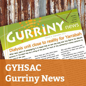 GHYSAC Gurriny News