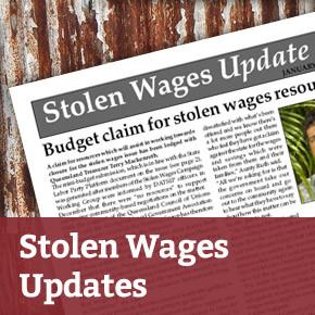 Stolen Wages Updates